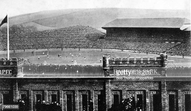Sport, Football, The scene at Hampden Park, Glasgow, Scotland International match, Scotland 2 v England 0