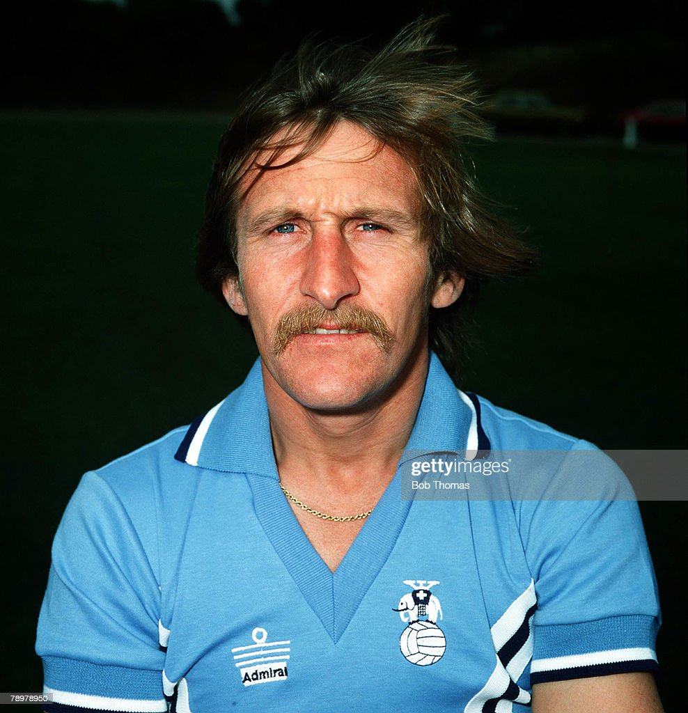 Sport, Football. Tommy Hutchinson of Coventry City. Circa, 1978. : News Photo