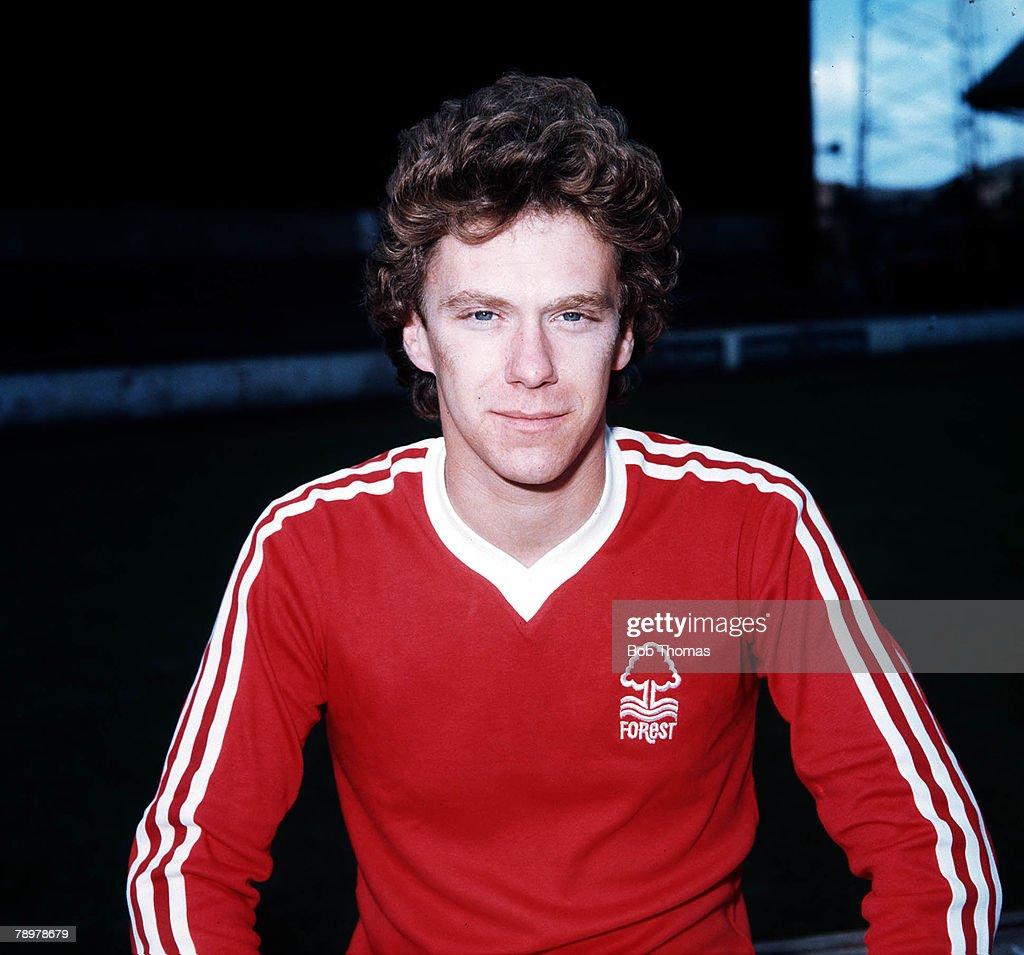 Sport, Football. Tony Woodcock of Nottingham Forest.Circa, 1978. : News Photo