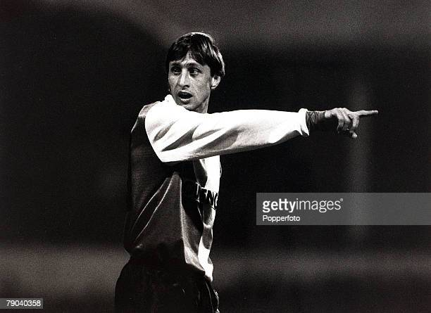 Sport, Football, UEFA Cup 2nd Round First Leg, White Hart Lane, London, England, 18th October 1983, Tottenham Hotspur 4 v Feyenoord 2, Feyenoord's...