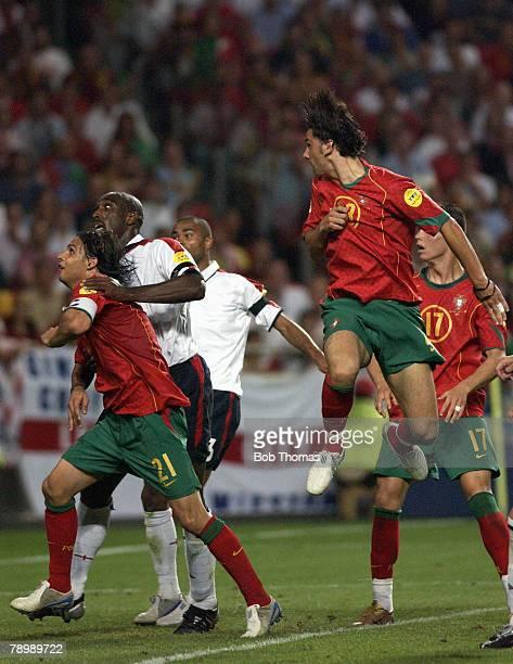 Sport, Football, UEFA European Championships, Euro 2004, Estadio Da Luz, Lisbon, 24th June 2004, Quarter Final, Portugal v England, Portugal won 6-5...
