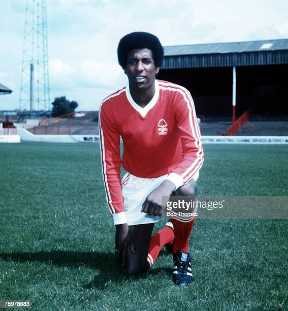 Sport Football Viv Anderson of Nottingham ForestCirca 1977