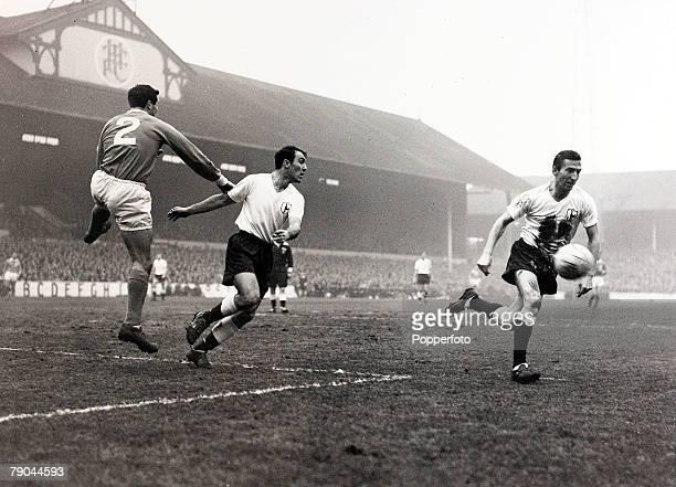 Sport Football White Hart Lane London England 18th December 1961 League Division One Tottenham Hotspur v Blackpool Tottenham Hotspur's new signing...
