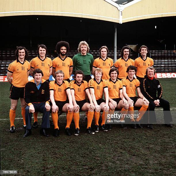 Sport Football Wolverhampton Wanderers Football Club March lr Kenny Hibbitt Martin Patching Goerge Berry Paul Bradshaw Steve Daley Geoff Palmer John...