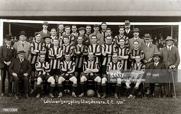 Sport Football Wolverhampton Wanderers The team and directors In the following year 1921 Wolverhampton Wanderers were the FA Cup finalists but were...