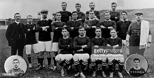 Sport Football Woolwich Arsenal 19081909 Back row LR Dick Greenaway McEachrane Curle Middle row LR MrGMorrell Gray McDonald Shaw Ducat Cross Raybould...