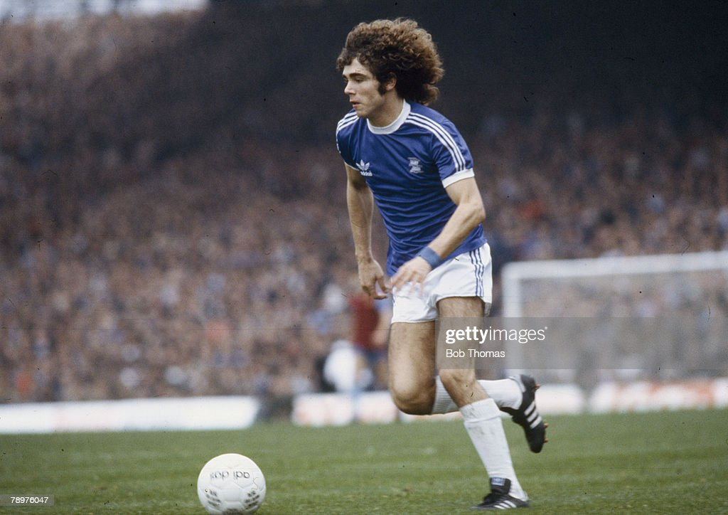Sport. Football.pic: circa 1979. Alberto Tarantini, Birmingham City. He was an Argentina international and played in the 1978 and 1982 World Cup Finals. : News Photo