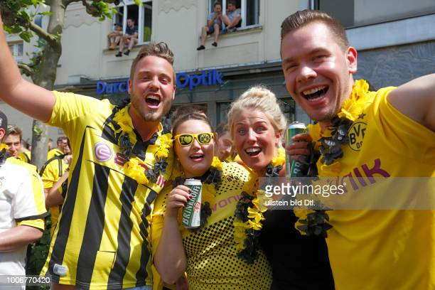 Sport, Fussball, Bundesliga, DFB-Pokal, 2016/2017, BVB Borussia Dortmund wurde im Finale gegen Eintracht Frankfurt Deutscher Pokalsieger 2017 und ist...