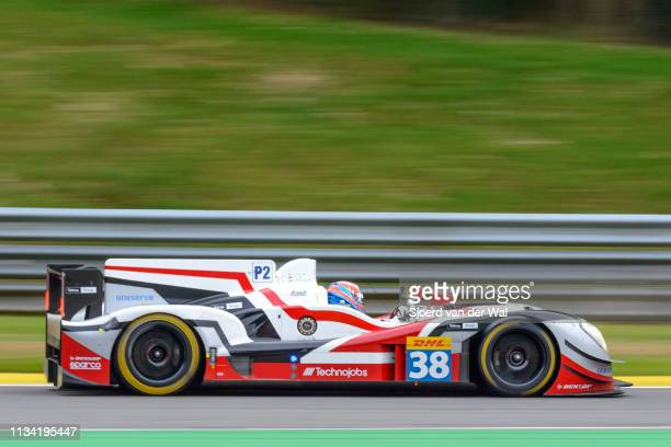 Sport Gibson 015S Nissan LMP2 race car driven by DOLAN S EVANS M TINCKNELL H on track during the 6 Hours of SpaFrancorchamps race the second round of...