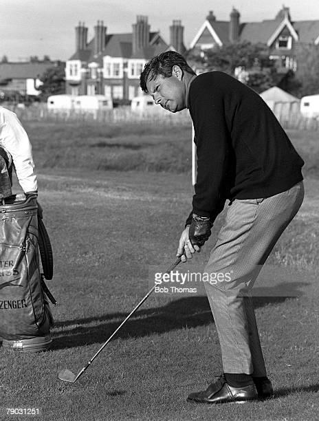 Sport Golf British Open Championship Hoylake England Great Britain's Peter Alliss