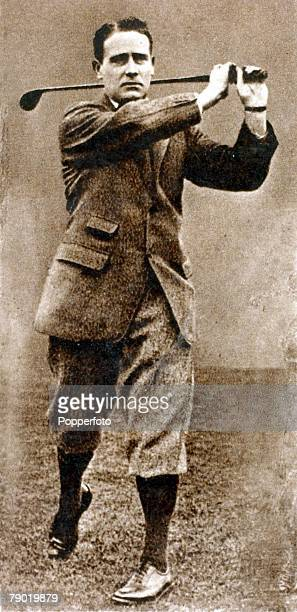 Sport Golf Famous golfer HHHilton who won the British Open Golf Championship in 1892 and 1897