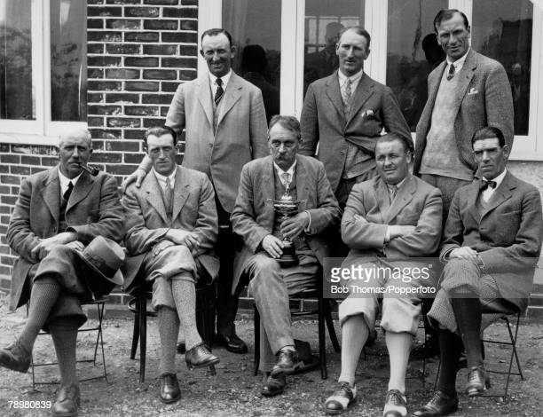 1927 Ryder Cup Worcester Country Club Massachusetts USA USA defeated Great Britain and Ireland by 9 1/2 points to 2 1/2 points The Great Britain and...