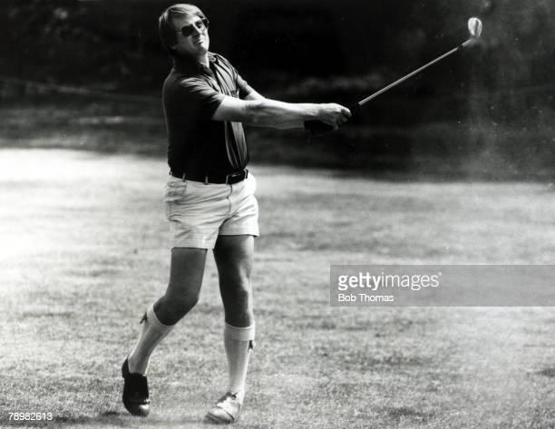 1980 Brian Barnes playing in shorts during the Martini Golf Brian Barnes born 1945 British golfer who was one of the top British golfers of the...