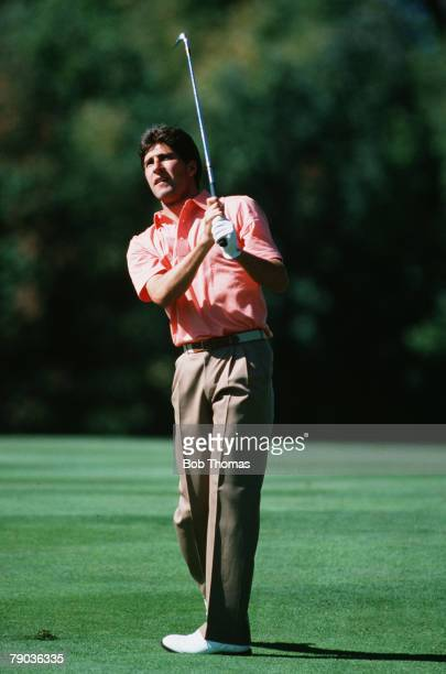 Sport, Golf, The Ryder Cup, Muirfield Village, Ohio, 25th-27th September 1987, USA 13 v Great Britain and Europe 15, Jose-Maria Olazabal, Great...