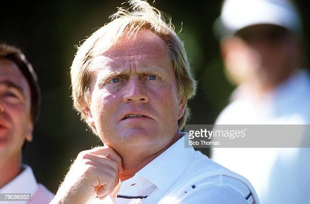 Sport, Golf, The Ryder Cup, Muirfield Village, Ohio, 25th-27th September 1987, USA 13 v Great Britain and Europe 15, USA captain Jack Nicklaus