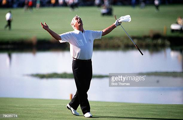 Sport, Golf, The Ryder Cup, The Belfry, England, 22nd-24th September 1989, Great Britain and Europe 14 v USA 14, Europe's Christy O'Connor Jnr...