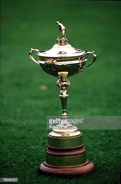 Sport Golf The Ryder Cup The Belfry England September 1993 Europe 13 v USA 15 The Ryder Cup trophy