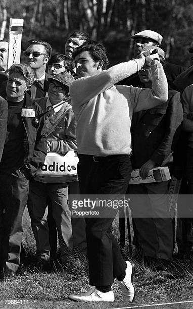 Sport, Golf, World Matchplay Championship, Wentworth, Surrey, 8th October 1970, Great Britain's Tony Jacklin is pictured during the tournament