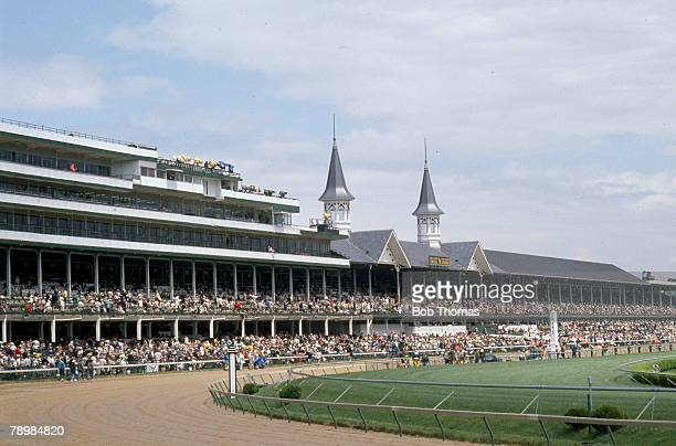 Sport, Horse Racing, pic: 7th May 1989, Churchill Downs, USA, The Kentucky Derby