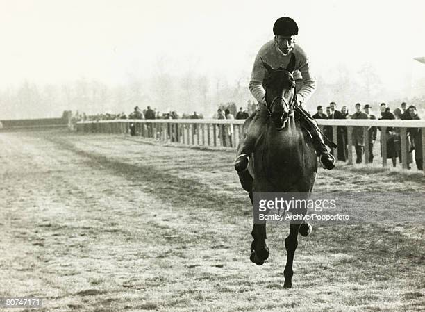 26th December 1966 Arkle racing at Kempton Park in the King George VI Chase at Kempton Park an easy winner of the race