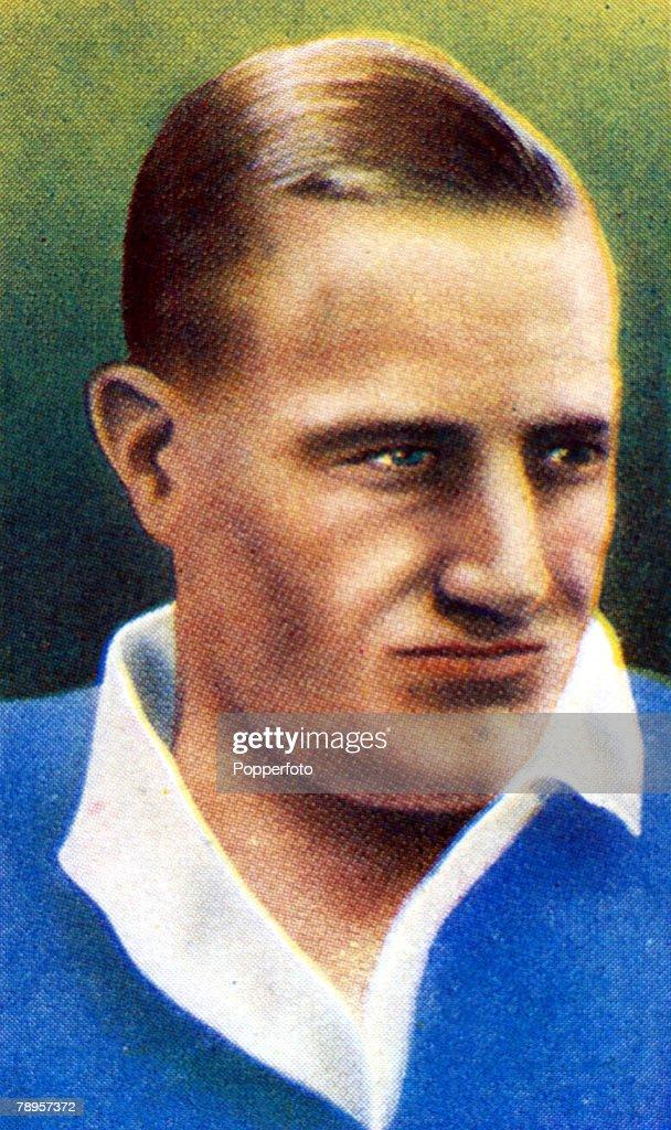 Sport. Illustration. Football. pic: circa 1938. George Brown, Rangers, who won 19 Scotland international caps from 1931-1938. : News Photo