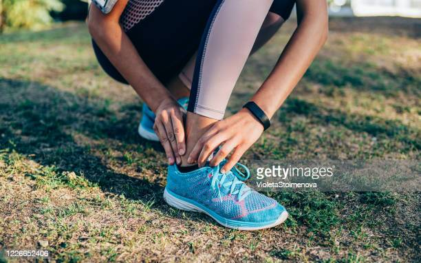 sport injury - ankle stock pictures, royalty-free photos & images