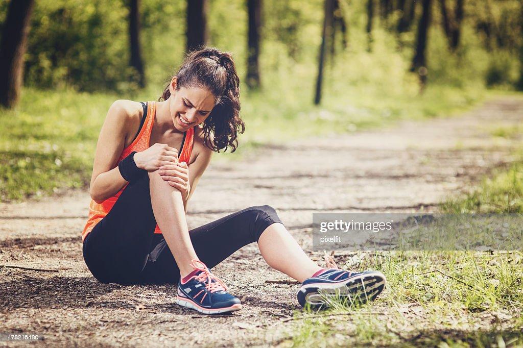 Sport Injury : Stock Photo