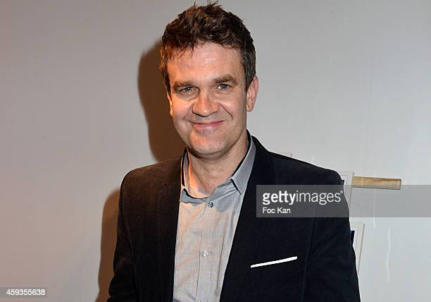 Sport journalist Herve Mathoux attend the Acer Pop Up Store Launch Party at Les Halles on November 20, 2014 in Paris, France.