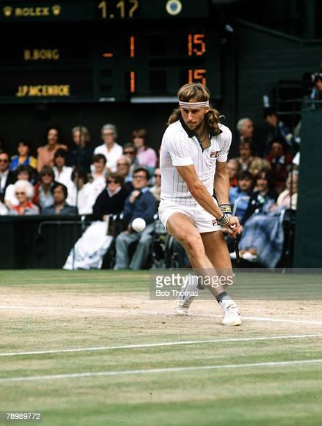 1980 Wimbledon Lawn Tennis Championships Bjorn Borg Sweden