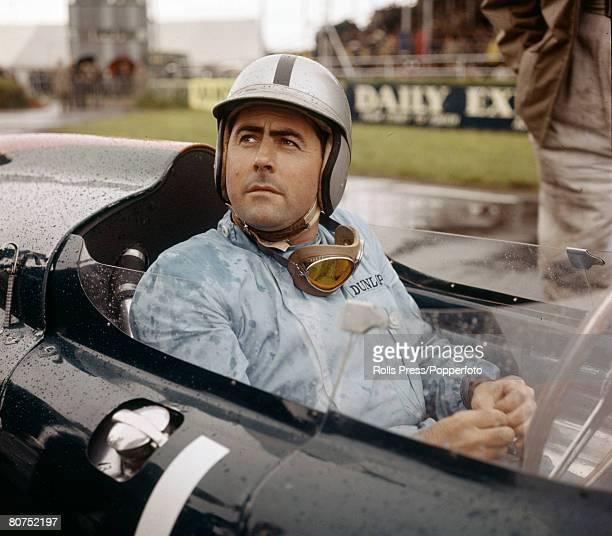 1961 Australian Grand Prix driver Jack Brabham at Silverstone Jack Brabham was world champion 3 times