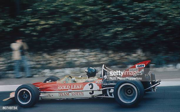 1970 Monaco Grand Prix at Monte Carlo Austria's Jochen Rindt on his way to winning the race in a LotusFord Jochen Rindt was a posthumous world...