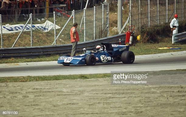 1971 British driver Jackie Stewart at Monza Jackie Stewart was Formula One World Champion three times in 1969 1971 and 1973