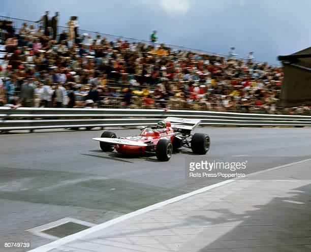 1971 Monaco Grand Prix French driver Henri Pescarolo in the March car