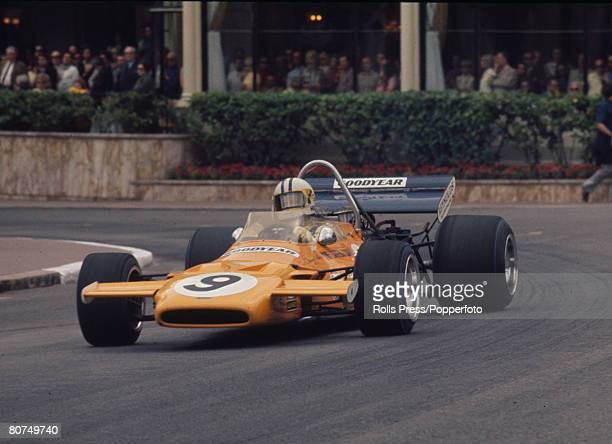 1971 Monaco Grand Prix New Zealand's Denny Hulme in the McLaren in action in the streets of Monte Carlo Denny Hulme was the Formula One Drivers World...