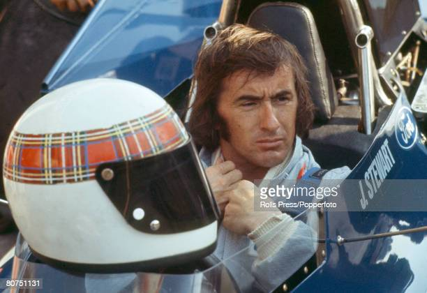 19th July 1975 British driver Jackie Stewart at MonzaJackie Stewart was Formula One World Champion three times in 1969 1971 and 1973