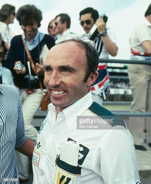 circa 1980's Frank Williams Head of the Williams Formula One racing team Frank Williams was knighted for his contribution to motor racing in 1999