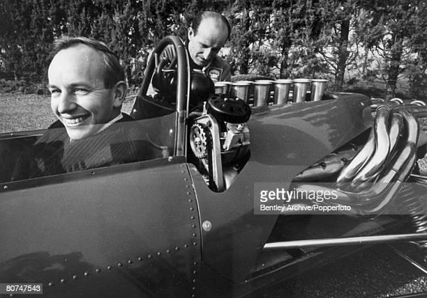 Sport, Motor Racing, Formula One, pic: March 1966, Great Britain's John Surtees at the wheel of the Italian 3 litre Ferrari, John Surtees, who won...