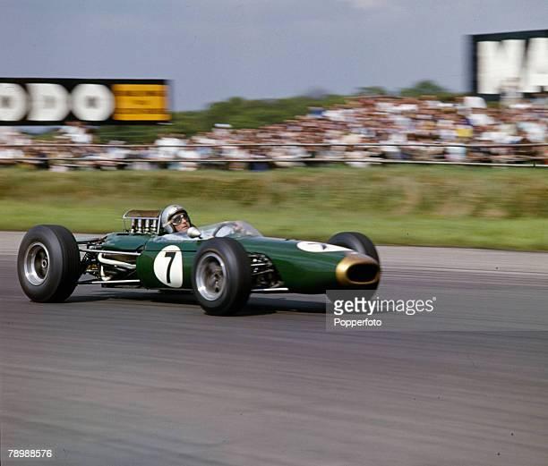1965 Silverstone Jack Brabham Australia Jack Brabham was world champion three times