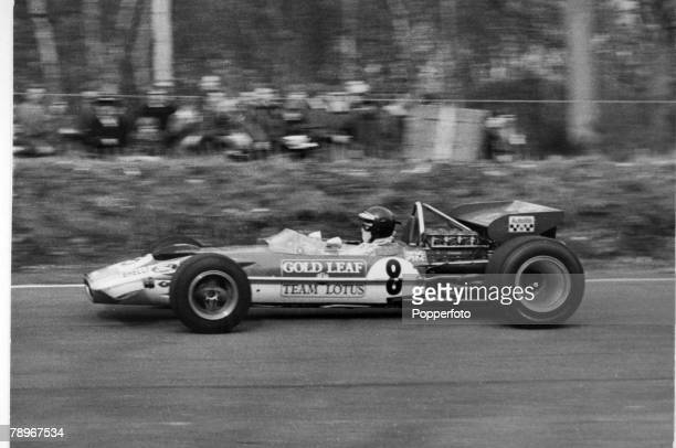 Sport Motor RacingFormula One The Race of Champions Austria's Jochen Rindt pictured in the Lotus 49C Jochen Rindt became the first Formula One...