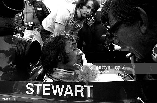 Sport Motorracing Scotland's Jackie Stewart pictured at the Monaco grand prix which he won to record his 25th grand prix victory 3rd June 1973