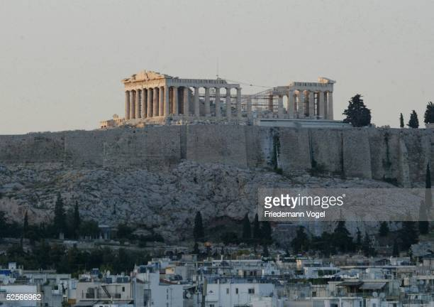 Sport / Olympia Olympische Spiele 2004 Athen Feature Akropolis 110504