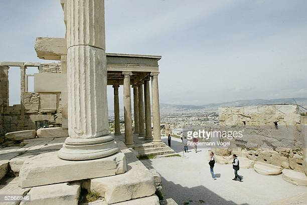 Sport / Olympia Olympische Spiele 2004 Athen Feature Akropolis 200404