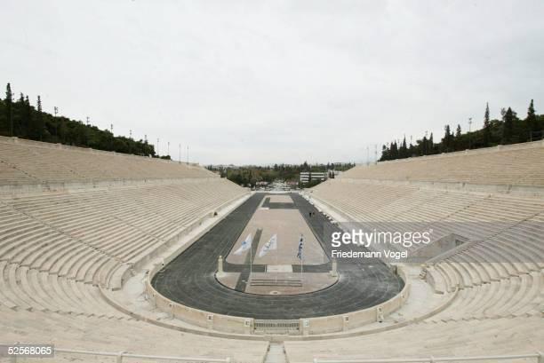 Sport / Olympia Olympische Spiele 2004 Athen Feature Panathinaikon Stadion 200404
