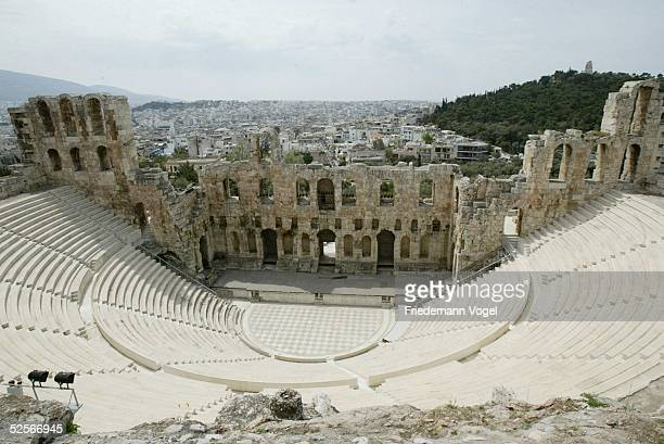 Sport / Olympia Olympische Spiele 2004 Athen Feature Theater des Herodes Attikus 200404
