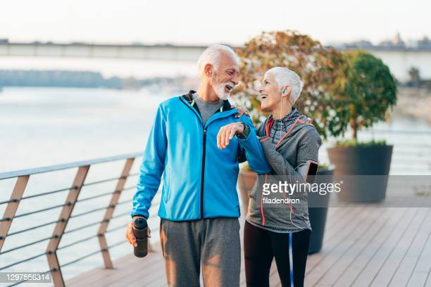 sport outdoor - white hair stock pictures, royalty-free photos & images