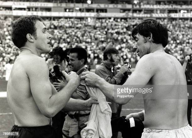 Sport, Personalities, pic: 15th June 1970, World Cup Finals in Mexico, England 1, v Czechoslovakia 0, in Guadalajara, England goalkeeper Gordon Banks...