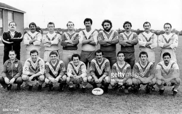 Sport Rugby League Cardiff Blue Dragons team picture No names included 30th August 1984