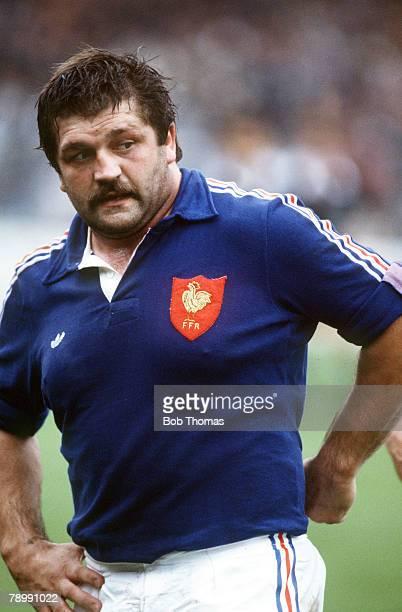 Sport Rugby Union International Toulouse 8th November 1986 France 7 v New Zealand 19 Jean Pierre Garuet France