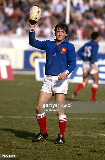 15th March 1986 5 Nations Championship in Paris France 29 v England 10 Guy Laporte France