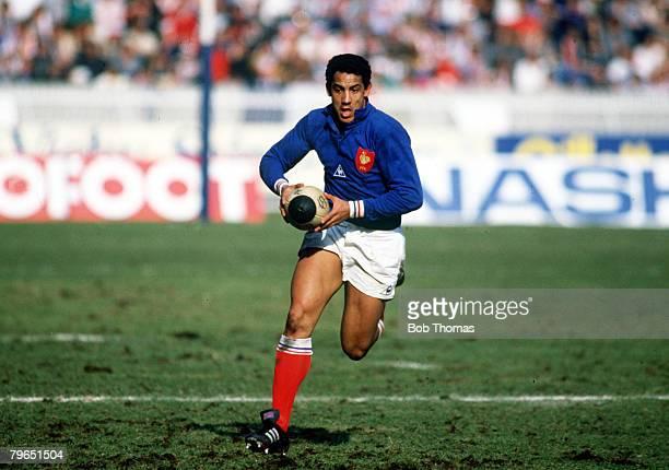 15th March 1986 Five Nations Championship Paris France 29 v England 10 Serge Blanco France